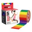 ロックテープ/Rock Tape(レインボー)5センチ×5メートル スポーツ・運動にサポートテーピング