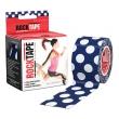ロックテープ/Rock Tape(ドット柄/水玉)5センチ×5メートル スポーツ・運動にサポートテーピング