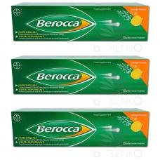 ベロッカ ビタミンBオレンジ 発泡性タブレット15錠 x 3セット